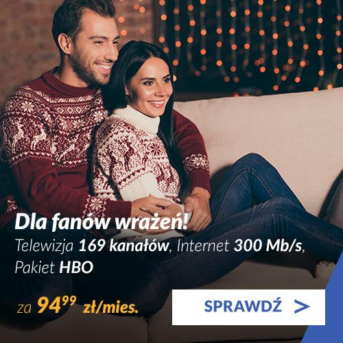Pakiet Platynowy + pakiety Sport na Ostro i Eleven + Internet 600 Mb/s