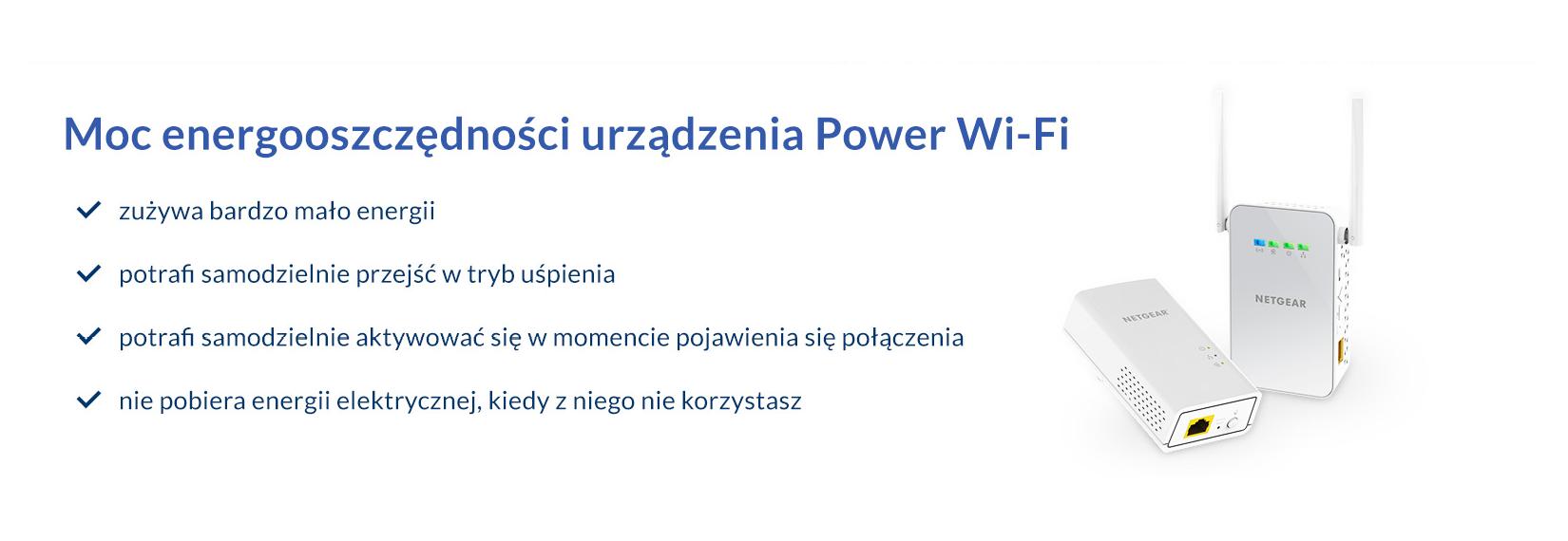 Power WiFi - urządzenie